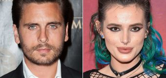 Scott Disick and Bella Thorne get close